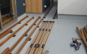 イタウバのウッドデッキをハーフビルドで施工してみました