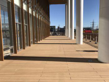 再生木材ウッドデッキ施工事例