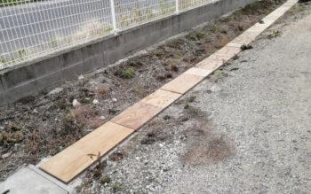 合板に防腐加工をしてみたら、外部への用途が広がります