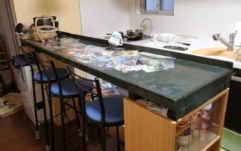 合板と、小断面の角材で簡単にできるおしゃれなテーブルをDIYしてみませんか