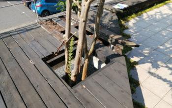 奈良県生駒市で、ウエスタンレッドシダーのウッドデッキの補修工事をしてきました その2