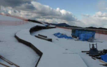 トンネルの向こうが雪でびっくりしたら、手前も・・・ その2