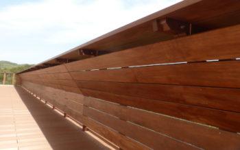 淡路島でアコヤ材の手すりを作ってきました その2