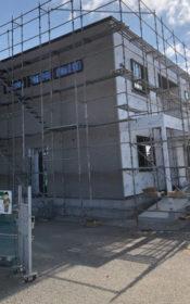 2×4(枠組み壁工法)で事務所の新築工事 その11